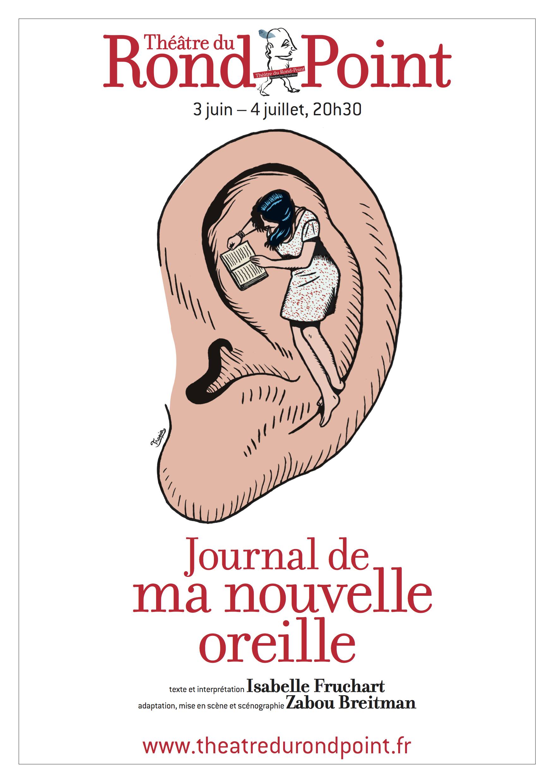 Journal de ma nouvelle oreille affiche