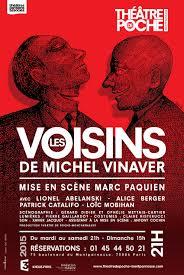 Les voisins de Michel Vinaver au Théâtre de Poche Montparnasse