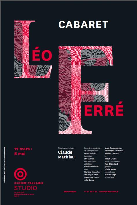 Cabaret LeoFerré_affiche