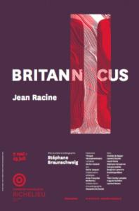 Britannicus_affiche_Comédie-Française