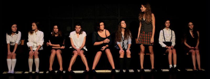 Parlons d'autre chose, Eléonore Confino, Mise en scène Catherine Schaub, Funambule Montmartre