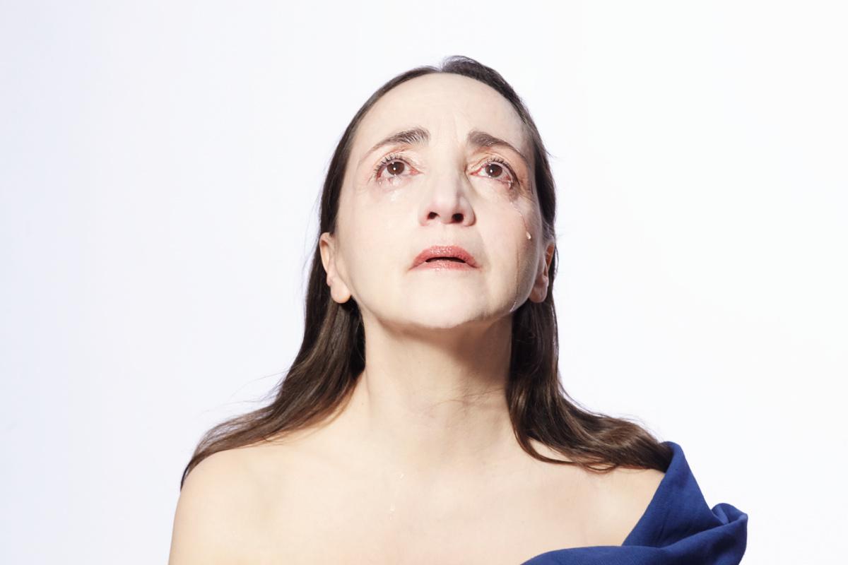 Le Testament de Marie, de Colm Toíbín, m.e.s. Deborah Warner, avec Dominique Blanc - Théâtre de l'Odéon-Europe - © Carole Bellaïche