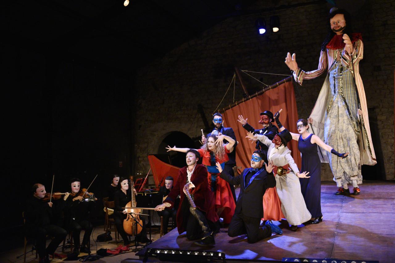 Monsieur de Pourceaugnac, Cie Théâtre de L'Eventail, à L'Epée de Bois