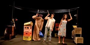 La main de Leïla, Aïda Asgharzadeh, Kamel Isker, Régis Vallée, Théâtre des Béliers, Festival Avignon, Pianopanier