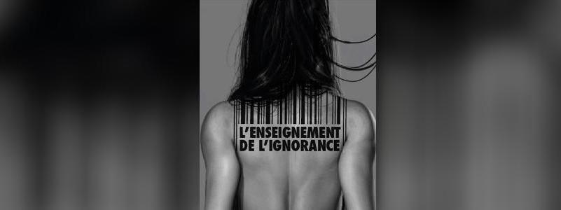 L'enseignement de l'ignorance, Jean-Claude Michéa, Sab Lanz, festival d'Avignon, Compagnie DDCM