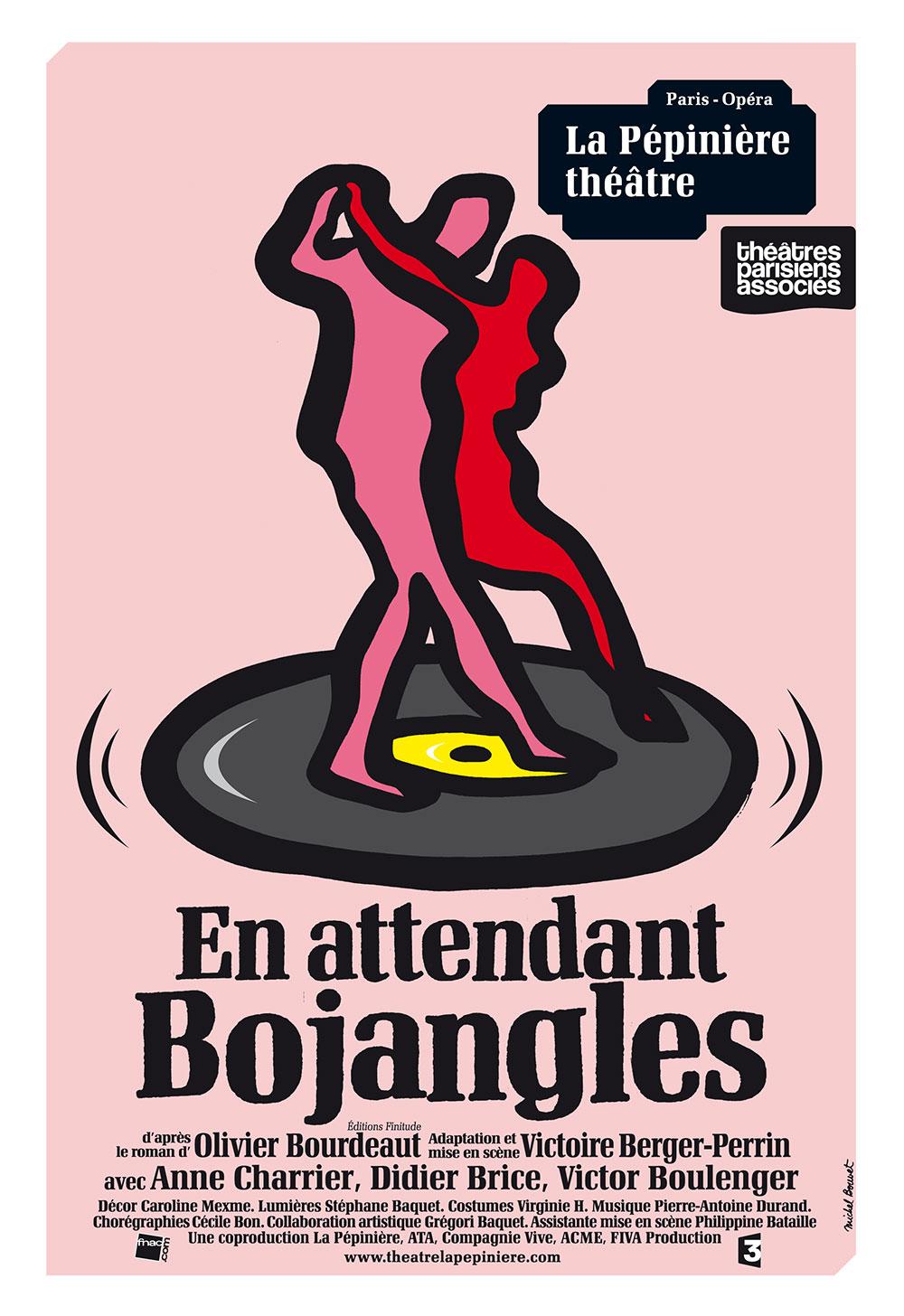 En attendant Bojangles, Pépinière Théâtre