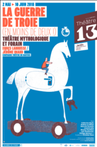 La Guerre De Troie (en moins de deux!) Théâtre 13 critique Pianopanier