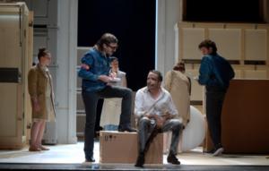 L'Avare, mise en scène Ludovic Lagarde, Théâtre de l'Odeon, coup de coeur PIanopanier
