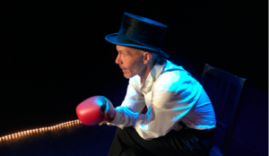 L'effort d'être spectateur de et avec Pierre Notte Festival Off d'Avignon, Théâtre des Halles