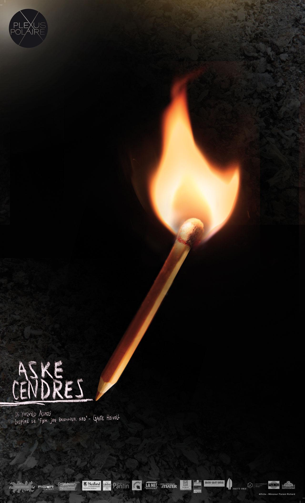 Cendres, un spectacle de la compagnie Plexus Polaire