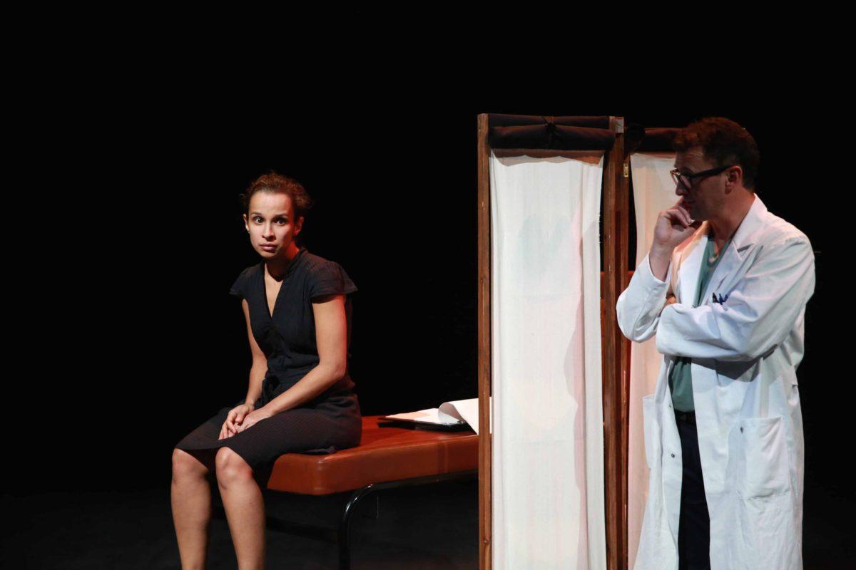 Un spectacle coécrit et interprété par Leïla Anis et Karim Hammiche, photo Xavier Cantat