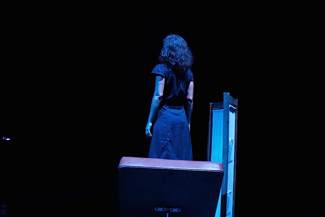Un spectacle coécrit et interprété par Leïla Anis et Karim Hammiche, photo Karim Hammiche