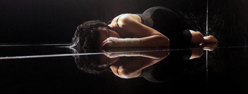 Maelström - une pièce de Fabrice Melquiot - avec Marion Lambert - photo Thomas Guené